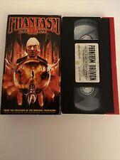 Phantasm 4 Oblivion IV VHS Orion Horror Cult Rare Htf Oop Works