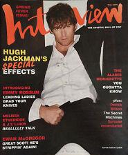 INTERVIEW MAGAZINE May 2004 HUGH JACKMAN Rachel McAdams Ewan McGregor