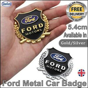 3D Ford Car Metal Badge Emblem Decal Styling Sticker Boot or side panel logo uk