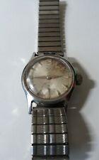 Wyler Incaflex Vintage Watch Manual Wind Stainless Steel Runs
