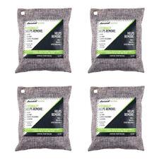 Nature Fresh Air Purifier Bag Style Charcoal Bamboo Purifying Mold Odor 200g 4Pk