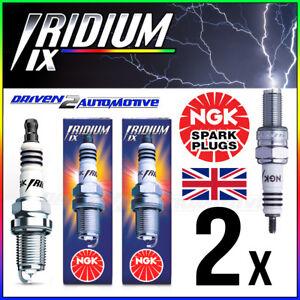 2x NGK DCPR7EIX IRIDIUM IX SPARK PLUG HARLEY DAVIDSON All 1450cc Models 99–>
