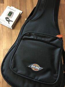 Concert Ukulele Gig Bag Fitted Padded with back pack straps. + Digital tuner