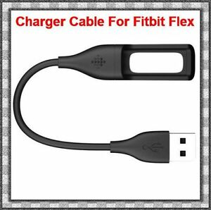 2x USB Charger Cables for FitBit Flex Tracker Wristband Bracelet Black