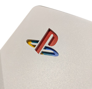 PS5 PlayStation Logo Decal, Sticker, Vinyl, Skin for Face Plate Side Console