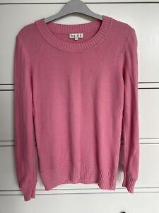 Reiss pink jumper, Small (Uk 8)