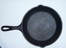 VINTAGE LODGE NO. 5 SK CAST IRON SKILLET PAN w/HANDLE  MADE IN U.S.A.