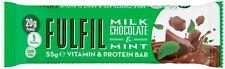 15 X cumplir Leche Chocolate & Menta Vitamina & Barras de Proteína de gran sabor!! más valioso!