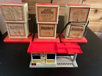 3 HOT WHEELS SIZZLERS JUICE MACHINE POWER CHARGER 1969 + SERVICE CENTER