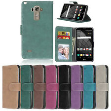 Photo Wallet Leather Flip Case Cover For LG G2 G3 G4 G5 L70 L90 LS770 C40 C70 5X