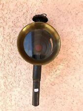 n°2) ancienne lampe de calèche  /  lanterne à bougie / vintage  FIACRE