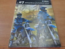OEM Yamaha 2007 Off Road Motorcycle Technical Update LIT-175MI-DT-07