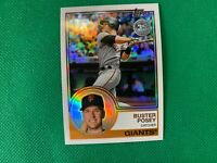 2018 Topps '83 Topps Silver Pack Chrome #96 Buster Posey San Francisco Giants