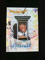 2017 Upper Deck Spider-Man Homecoming Queens to Screen Auto SS11 (Abraham Attah)