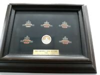 1985 pro football Hall of Fame pin collection Simpson Namath Rozelle Staubach