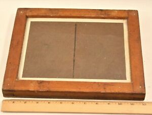 Vintage Anthony 8 x 10 Wood Contact Printing Frame c.1890