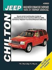 Jeep Wagoneer/Comanche/Cherokee 1984-01 Repair Manual von Matthew E. Frederick und Bob Henderson (2010, Taschenbuch)