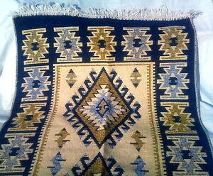 Traditional Turkish Anatolian Rug Carpet Kilim Oriental Design 80 x 125 cm SALE!