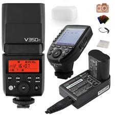 Godox V350F TTL Camera Flash + VB20 Li-ion Battery +Godox XproF Trigger For Fuji