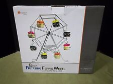 New In Box - Imperial Home 8 Cupcake Capacity Rotating Ferris Wheel Stand L@@K!