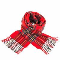 Edinburgh 100% Lambswool Scottish Tartan Multicolour Scarf