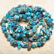 """Blue Botswana Onyx Lace Agate Raw Material Free Form Nuggets Chips Beads 36"""""""