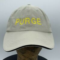 Purge Thoroughbred Race Horse Lexington Kentucky Embroidered Strapback Hat