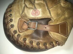 Vintage Rawlings 215 Catcher's Mitt 1930's Two Tone Antique