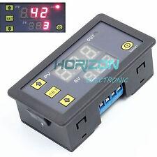 12V Timing Delay Relay Module Digital LED Dual Display 0-999 hours Cycle B2AM