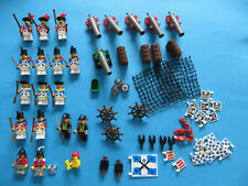 Lego Piraten Rotröcke Blauröcke Figuren Kanonen Flaggen 6243 6291 6285 6286 6280