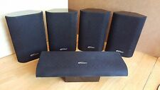 Lot of 5 Paramax P-510 5.1 Channel Home Theater Surround Sound Speakers