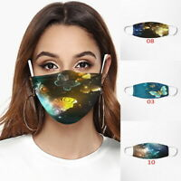 Adult Face Mask Covering Reusable Washable Butterfly Print Mask Protective