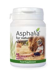 Asphalia Natural Sleep x 60 vegetarian capsules - 100% additive free