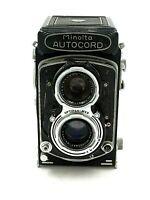 Vintage Minolta Autocord TLR Camera Optimer MXS Lens
