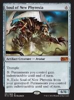 1x SOUL OF NEW PHYREXIA - Rare - M15/Commander - MTG - NM - Magic the Gathering