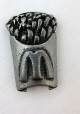 Pewter Miniature McDonald's French Fries Starbucks Monopoly Replacement Piece 1""