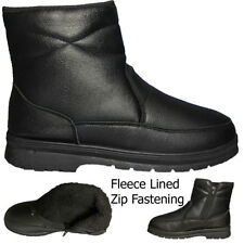 Zip Chelsea, Ankle Boots Synthetic Leather Shoes for Men