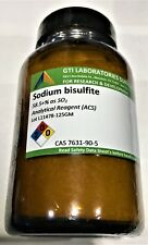 Sodium bisulfite, 58.5+% as SO2, Analytical Reagent (ACS), 125g