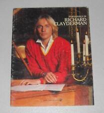 Spartiti Pesonale di RICHARD CLAYDERMAN - PIANO 1985 Songbook Sheet music