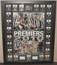 Collingwood 2010 Premiership Poster & Card Set *Signed*