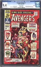 Avengers Annual #1 CGC 9.4 1967 Boston Pedigree! Thor! Iron Man! D4 134 cm