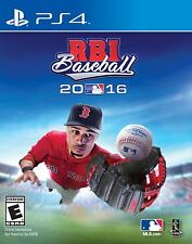 RBI Baseball 2016 - PlayStation 4  Brand New In Stock