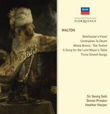 Georg Solti - Walton: Belshazzar's Feast / Choral Works / Songs [New CD]