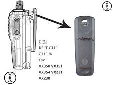 OEM Belt Clip-18 for Vertex Standad VX350 VX351 VX354 VX231 VX230 Portable Radio