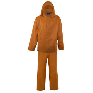 Adult Mossi Ambush-X Rain Suit Blaze Orange Rain Jacket & Rain Pants