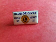 Pins Lions Club Givet