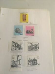 Collection Of Latin America Mint Used Mexico, On Pages E-62
