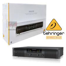 Behringer NX6000 Ultra-Lightweight, 6000W Class-D Stereo Power Amplifier Amp