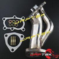 Dump Pipe Turbo Outlet For Nissan Skyline R32 R33 R34 RB20 RB25 T28 T3 Garrett