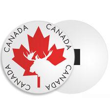 Canada Fridge Magnet - Maple Leaf Moose Flag Travel Holiday Souvenir Gift #4338